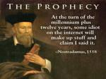 Nostradamus Comedian
