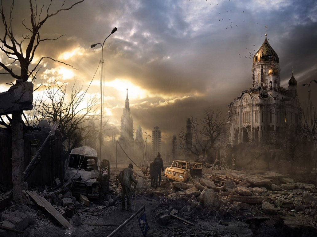 Post Apocalyptic Russia by myjavier007
