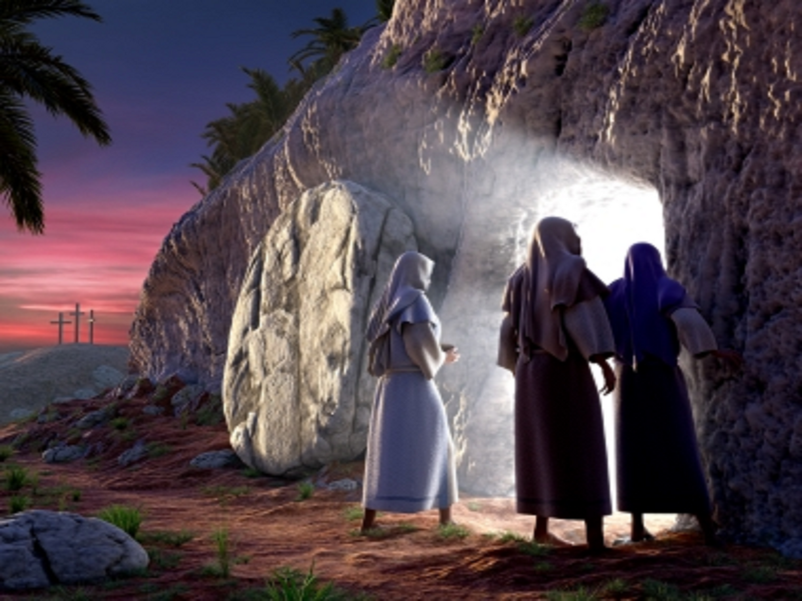 The Empty Tomb and Resurrection of Jesus Christ by myjavier007Empty Tomb Wallpaper