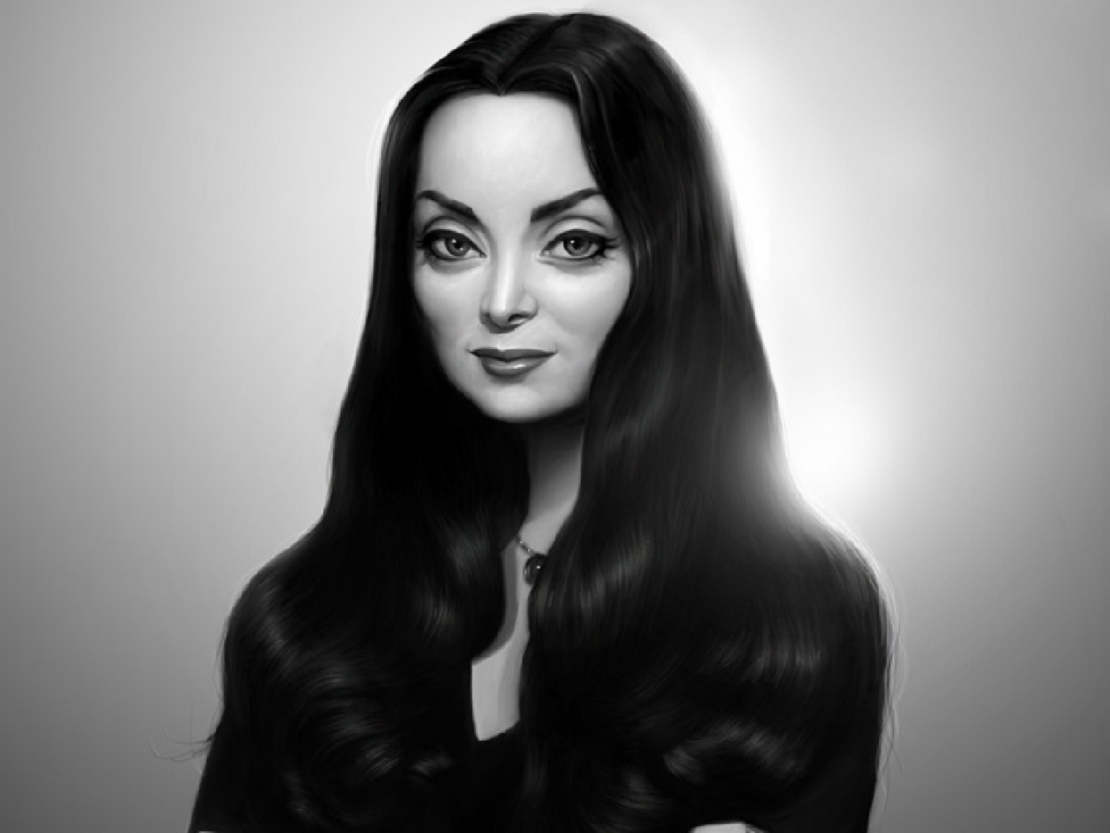 Morticia Addams by myjavier007