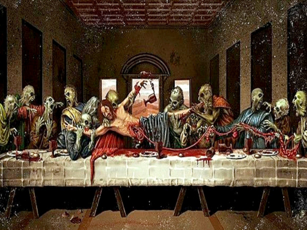 Jesus christ zombie last supper by myjavier007 on deviantart - Last supper 4k ...