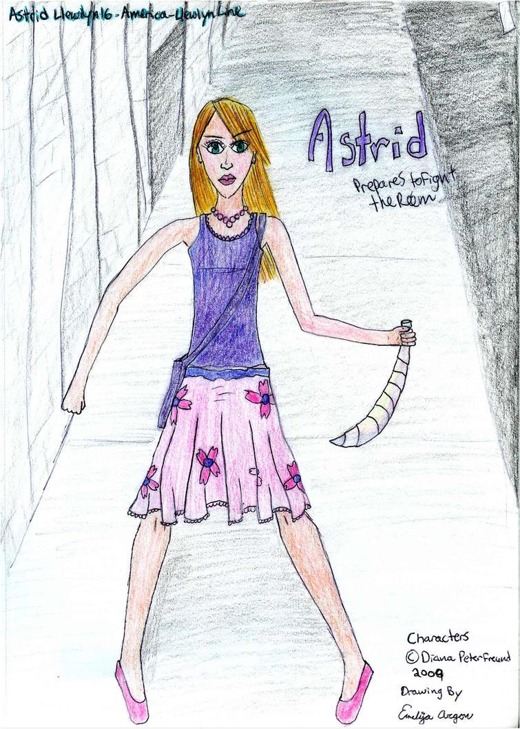 Astrid Llewellyn by EmiliaArgon