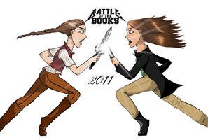 Katsa vs. Katniss by EmiliaArgon