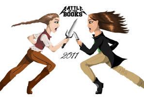 Katsa vs. Katniss- Lineless by EmiliaArgon