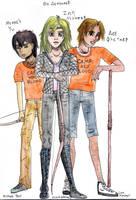 Michael Y., Zoe N., and Lee F. by EmiliaArgon