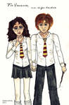 AT- Hermione and Ron