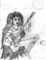 Marceline pencils by EmiliaArgon
