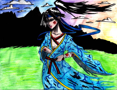Judo Girl by EmiliaArgon