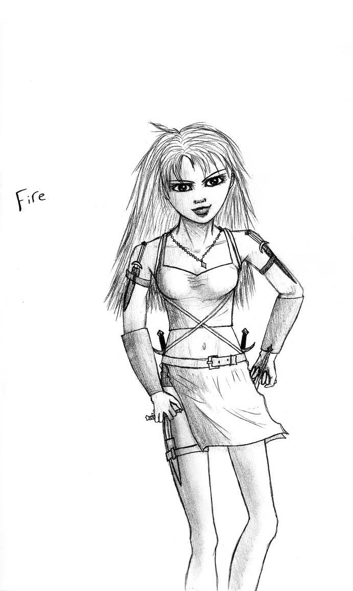 Fire by EmiliaArgon