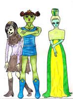 Adventure Time Princesses- Part 3 by EmiliaArgon