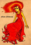 Flame Princess by EmiliaArgon