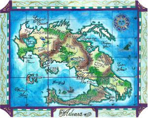 Map of Adonia