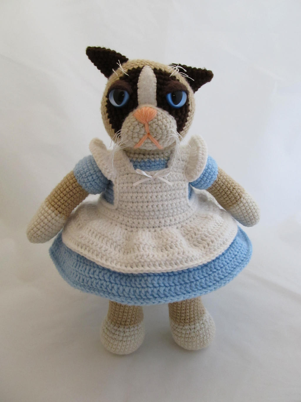 Grumpy cat amigurumi pattern free kalulu for grumpy cat amigurumi by scuzzbunny on deviantart bankloansurffo Image collections