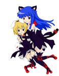 Higurashi: Rika + Satoko