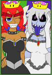 Bowsette and Boosette B by MamaLuigi2018