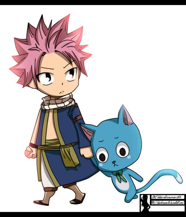 Natsu and happy fairy tail traffic club - Fairy tail happy and natsu ...