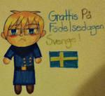 Grattis Pa Fodelsedagen Sverige! by KITTYKINKIN