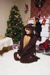 Christmas Deer by amelie-sama