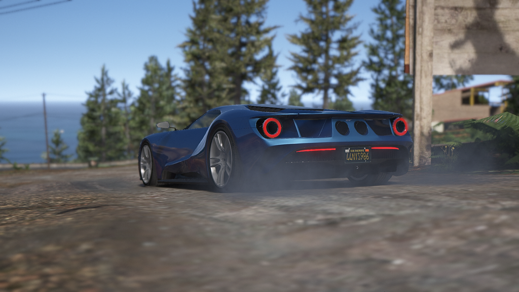 Gta  Ford Gt By Aazlaid