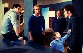 Edward, Nessie, Jasper, Emett and Carlisle by NENEnewby
