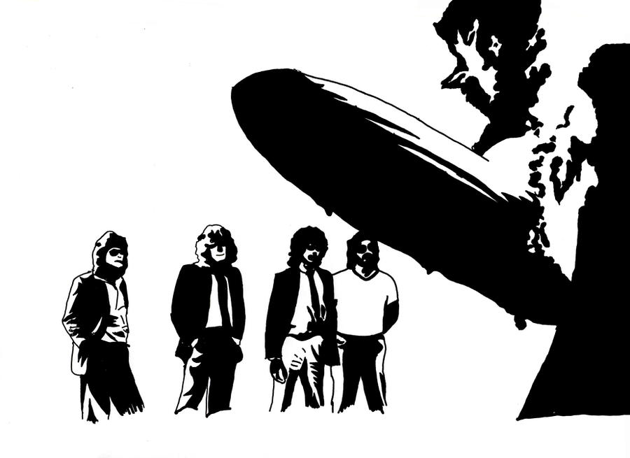 Led Zeppelin  Tour Vector