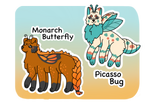 [Puppillars Guest Auction] Bug Friends: closed