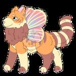 [Mothcats MAW - Closed] Dawn Stripes