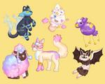 [OTA 3/6 open] Pokemon variants