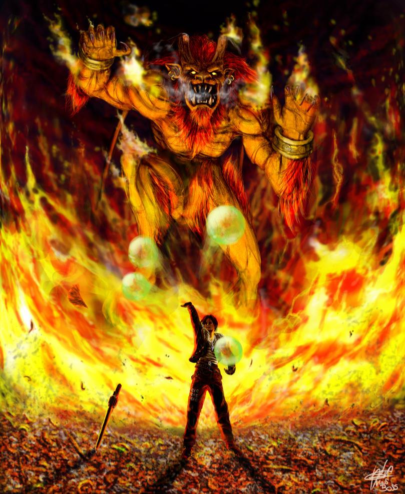 GF Ifrit Final Fantasy VIII By KlausBoss On DeviantArt
