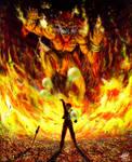 GF Ifrit Final Fantasy VIII