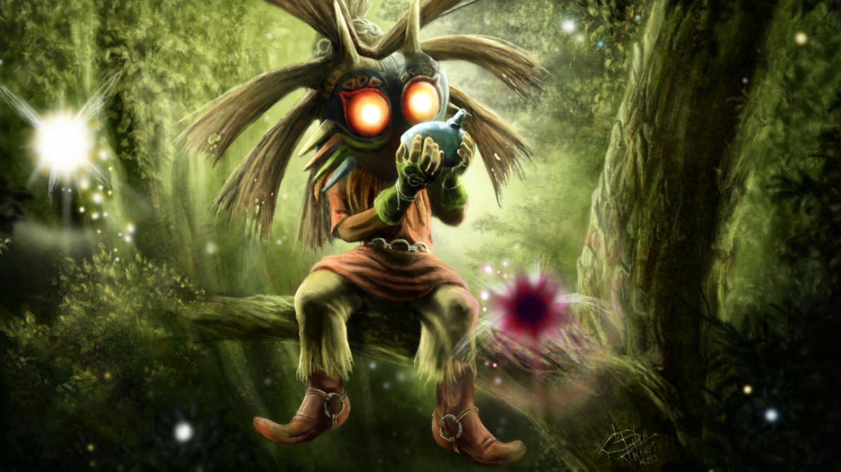 Skull Kid Wallpaper: Skull Kid Majora's Mask By KlausBoss On DeviantArt