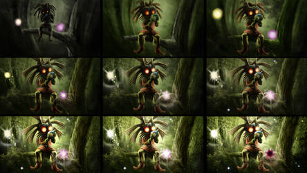 Skull Kid Steps by KlausBoss
