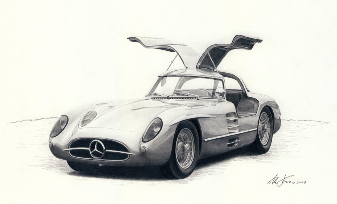 Mercedes 300 SLR coupe by