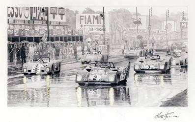 Monza 1000 km sketch by klem