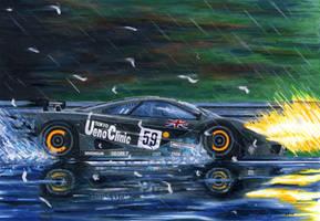 Mclaren F1 In Lemans by klem