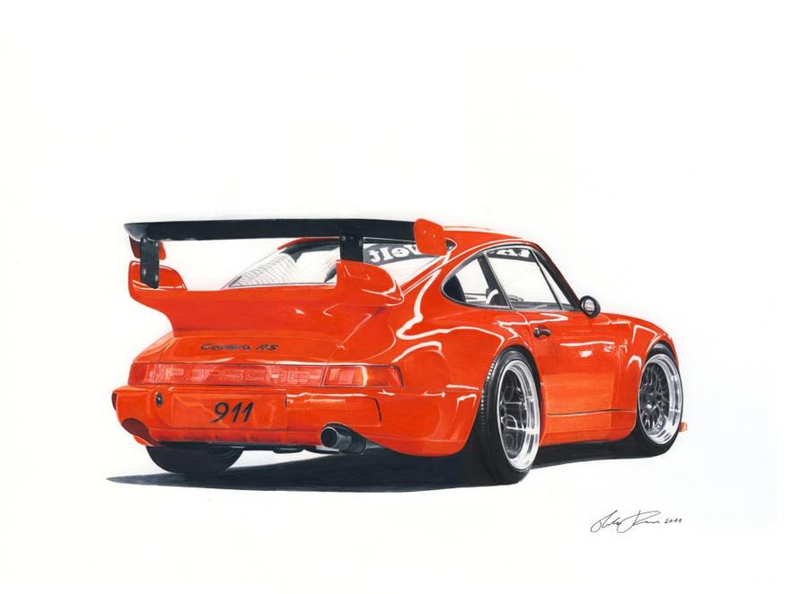 Porsche 911 Rwb By Klem On Deviantart