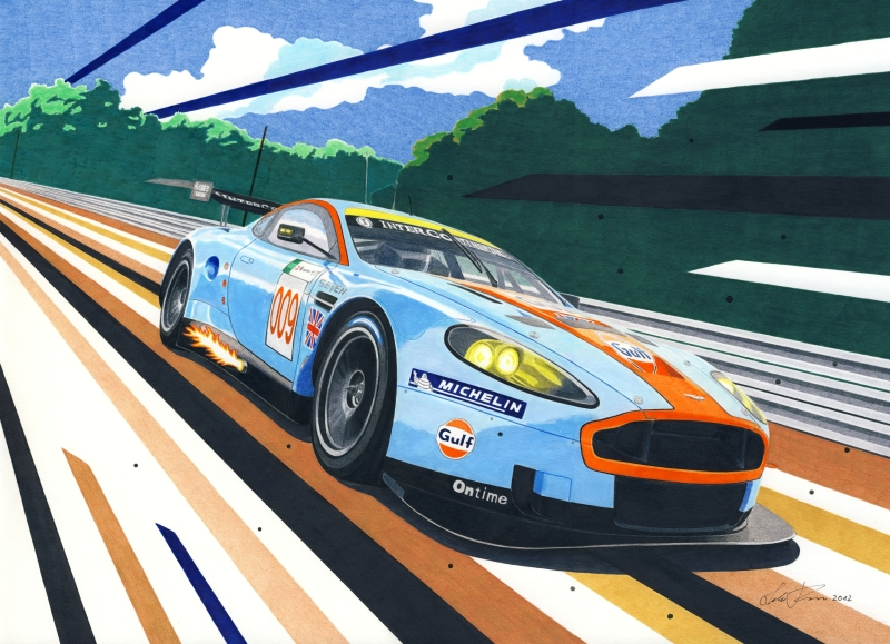 Aston Martin DB9 GT1 by klem