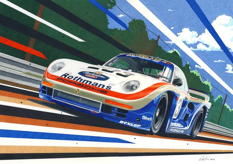 Porsche 961 by klem