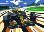 Senna in Brazil