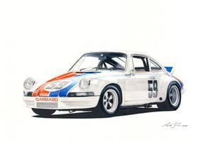 Porsche 911 Rsr 73 by klem