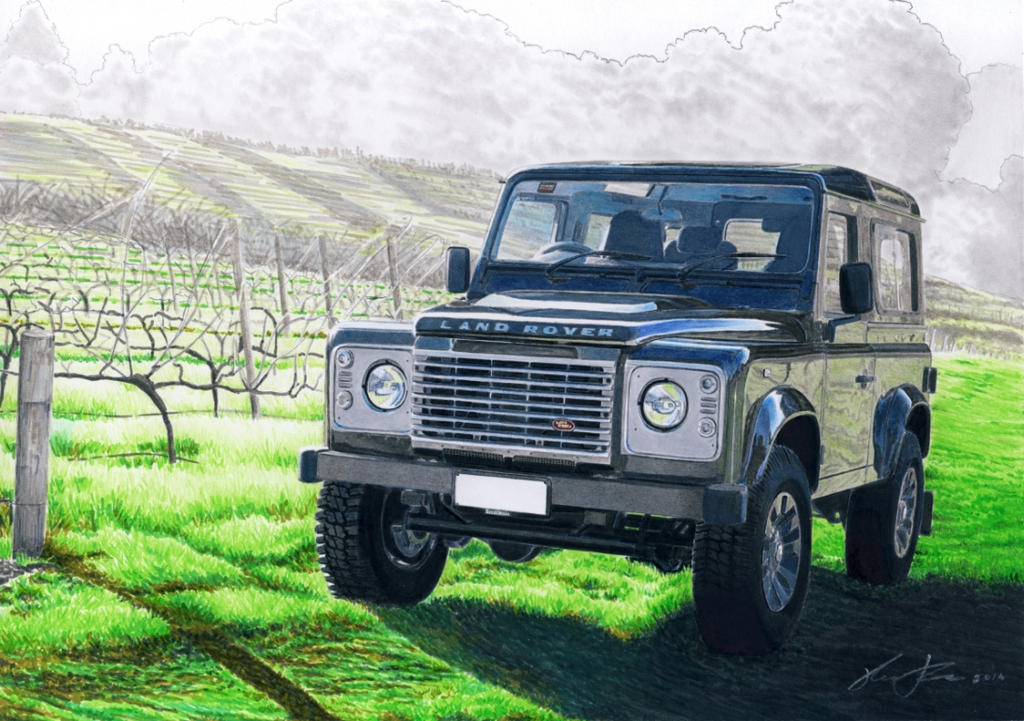 Land Rover Defender by klem