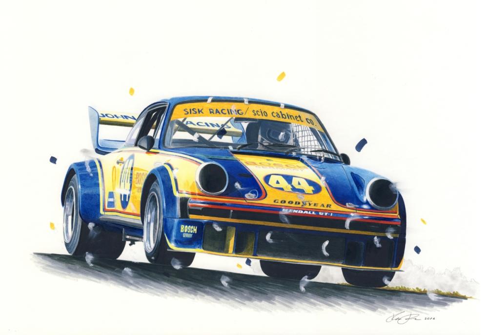 IMSA Porsche 934/5 by klem