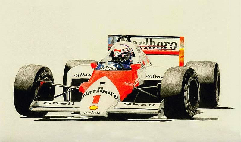 Alain Prost the Champion by klem