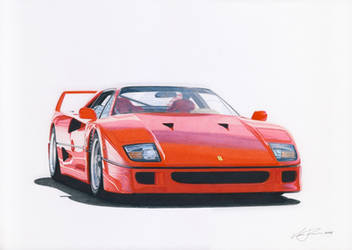 Ferrari F40 by klem