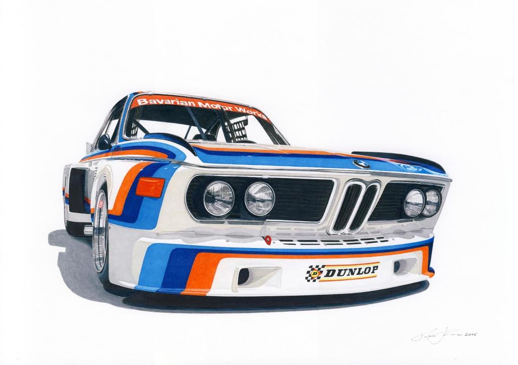 BMW CSL by klem
