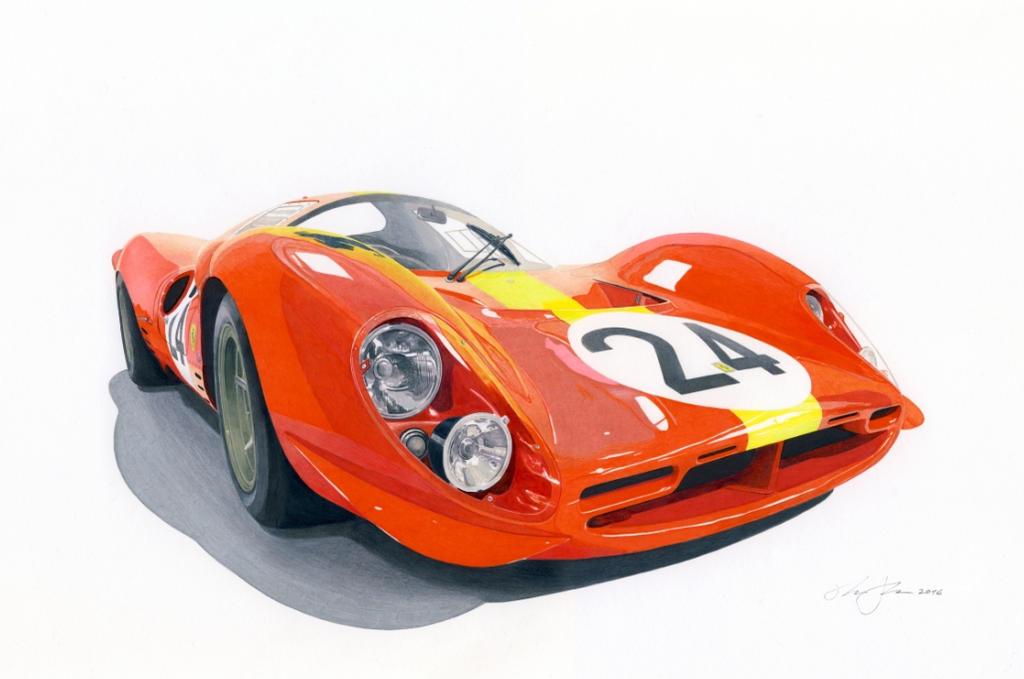 Ferrari 330 P4 by klem