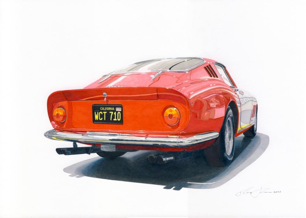 Mcqueen Ferrari 275 GTBs by klem