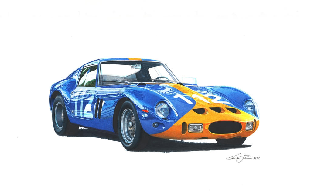 ferrari 250 gto by klem on deviantart. Black Bedroom Furniture Sets. Home Design Ideas