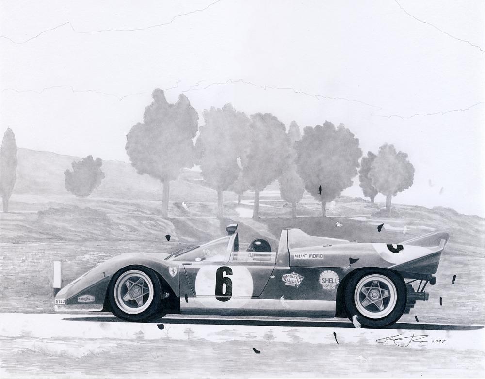 Targa Florio 1970 by klem
