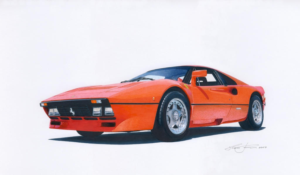 Ferrari 288 GTO by klem